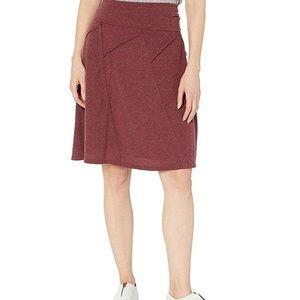 prAna wool knee length skirt